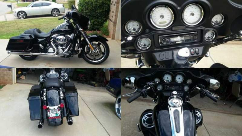 2012 Harley-Davidson Touring Black for sale craigslist photo
