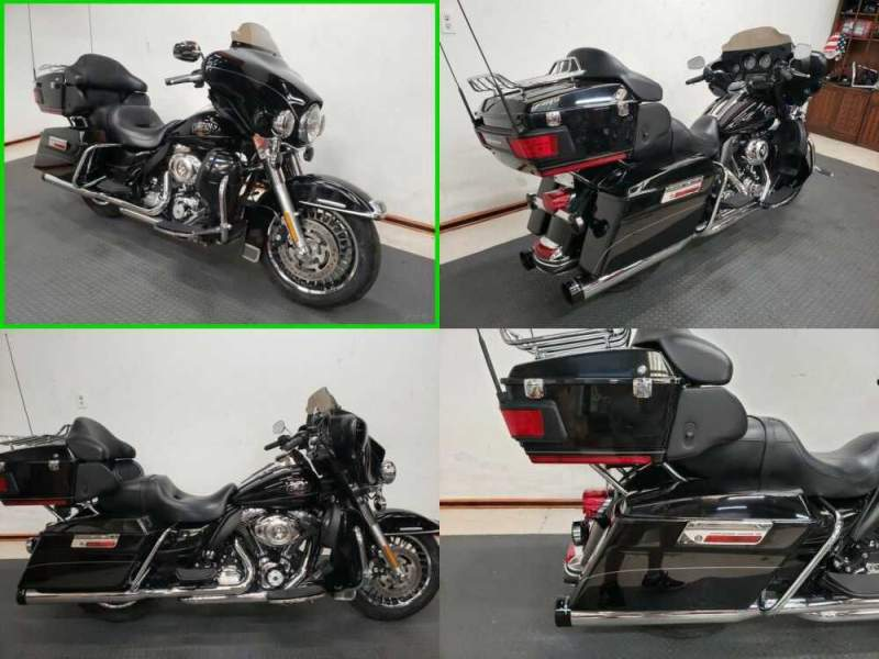 2012 Harley-Davidson Touring Electra Glide® Ultra Limited Black for sale craigslist