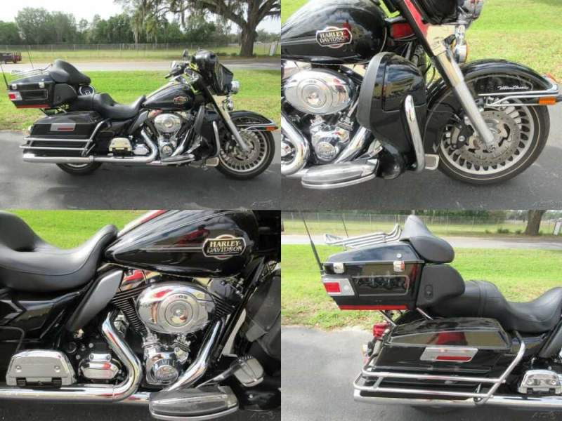 2012 Harley-Davidson Touring Electra Glide® Ultra Classic® Black for sale craigslist