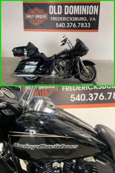 2012 Harley-Davidson Touring Road Glide Ultra Vivid Black for sale craigslist