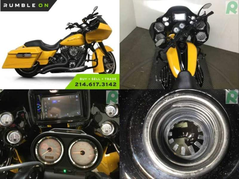 2012 Harley-Davidson Touring CALL (877) 8-RUMBLE Yellow for sale craigslist