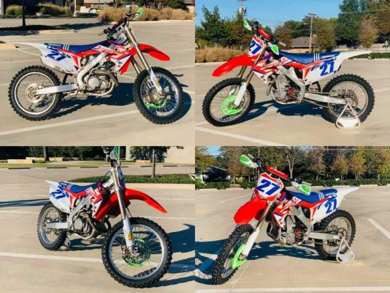 2012 Honda CRF Red for sale