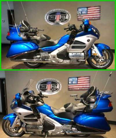 2012 Honda Gold Wing Audio / Comfort Blue for sale craigslist photo