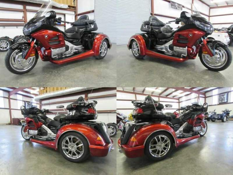 2012 Honda Gold Wing ORANGE AND BLACK for sale