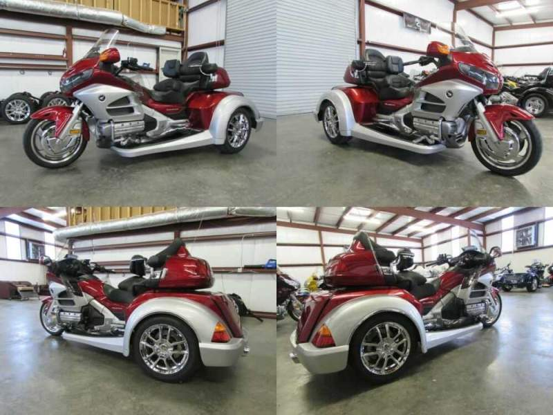 2012 Honda Gold Wing RED AND SILVER for sale