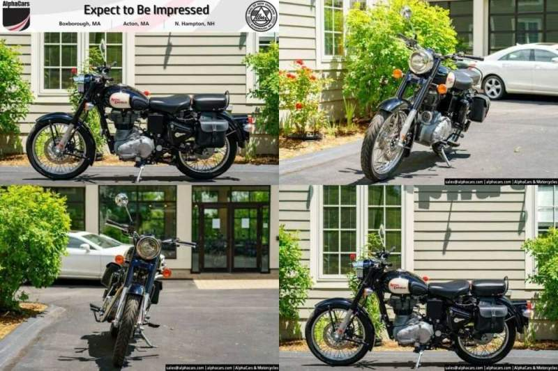 2012 Royal Enfield Bullet Classic 500 Black for sale