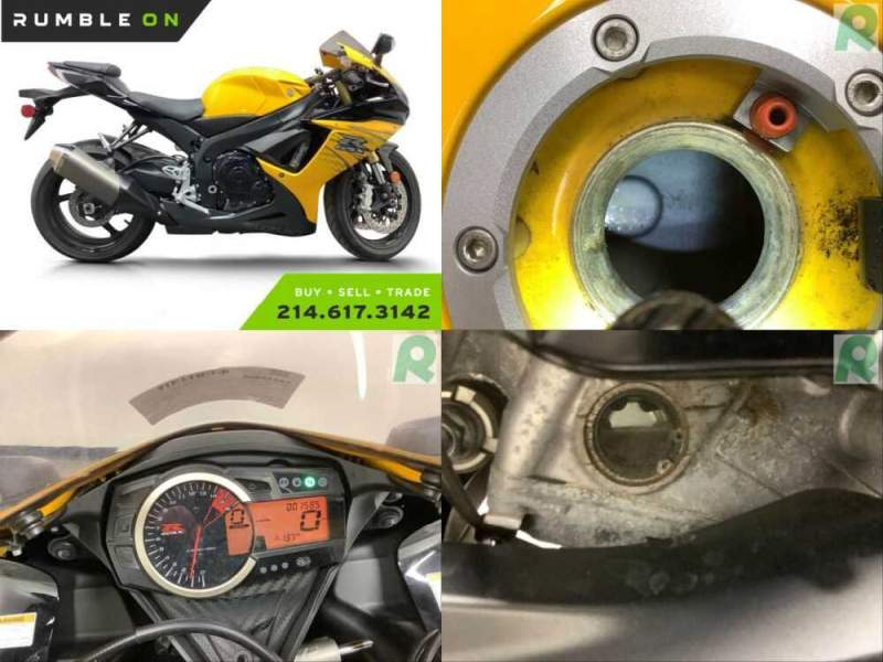 2012 Suzuki GSX / Katana CALL (877) 8-RUMBLE Yellow for sale craigslist