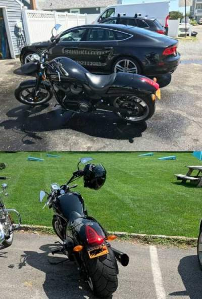 2012 Victory VICTORY HAMMER 8 BALL Black for sale