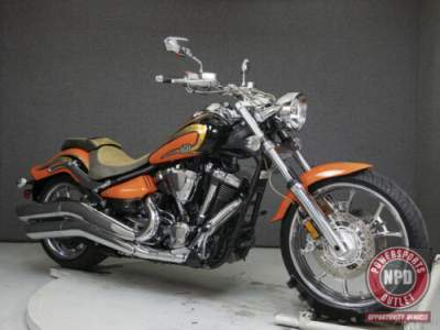 2012 Yamaha Raider DEEP ORANGE METALLIC for sale