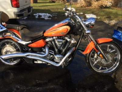 2012 Yamaha Raider Orange for sale craigslist photo
