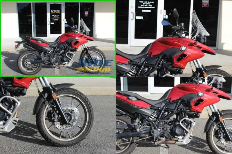 2013 BMW F-Series 700 GS Red for sale