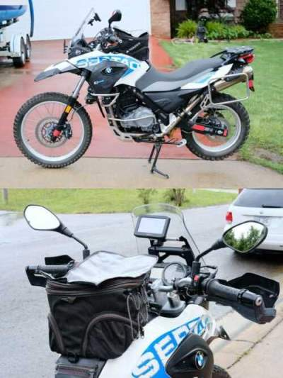 2013 BMW G650GS White for sale