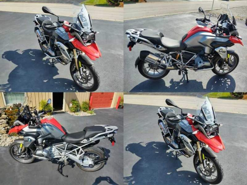 2013 BMW R 1200 GS Red for sale craigslist photo