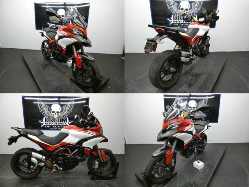 2013 Ducati Multistrada 1200 S Pikes Peak Red for sale craigslist