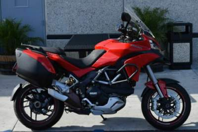 2013 Ducati Multistrada 1200 S Touring Red for sale