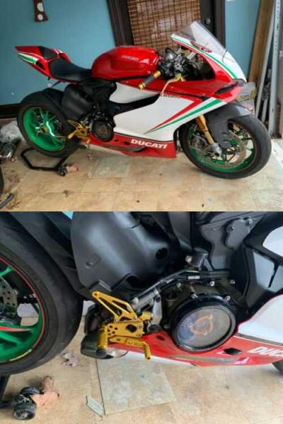 2013 Ducati Superbike Red, white , green for sale craigslist