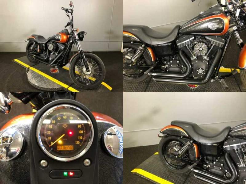 2013 Harley-Davidson Dyna® Street Bob® H-D1™ Midnight Pearl for sale