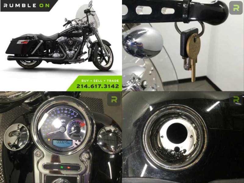 2013 Harley-Davidson Dyna CALL (877) 8-RUMBLE Black for sale craigslist photo