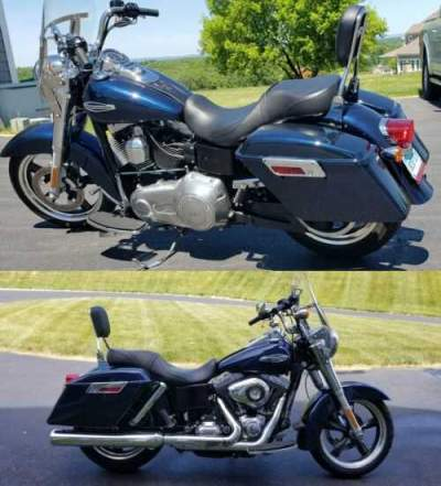 2013 Harley-Davidson FLD-103 DYNA SWITCHBACK Blue for sale craigslist photo