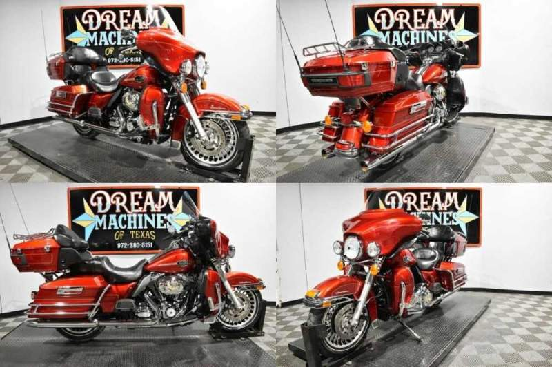 2013 Harley-Davidson FLHTCU - Electra Glide Ultra Classic Red for sale