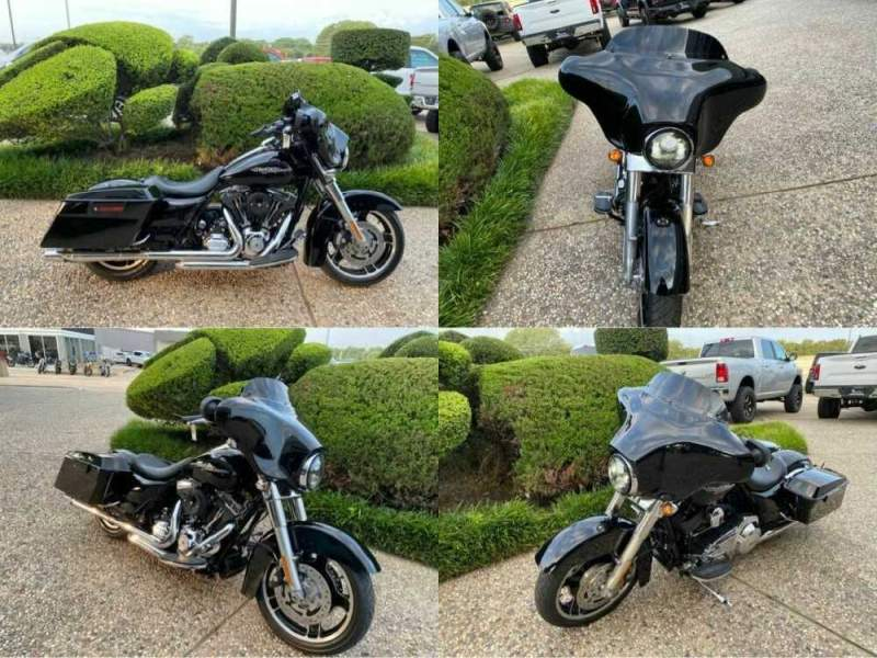 2013 Harley-Davidson FLHX Street Glide Black for sale craigslist photo