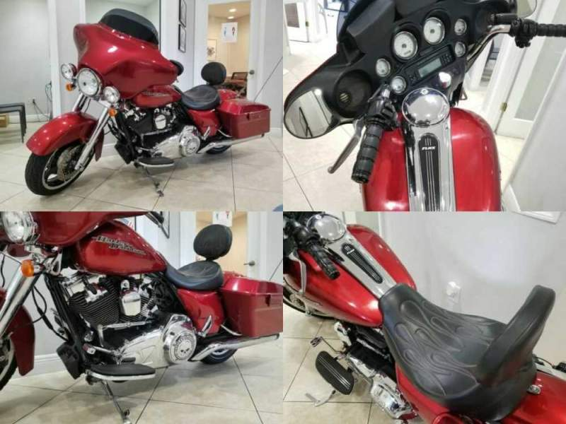 2013 Harley-Davidson FLHXI - Excellent Condition - 15k Miles - Exhaust Red for sale craigslist photo