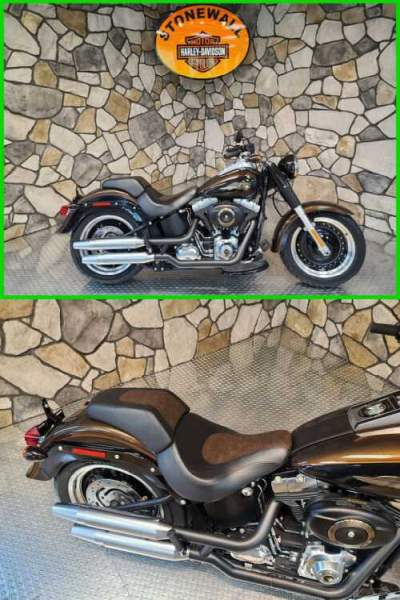 2013 Harley-Davidson Softail Fat Boy Lo 110th Anniversary Edition Anniversary Vintage Bronze / Anniversary Vintage B for sale