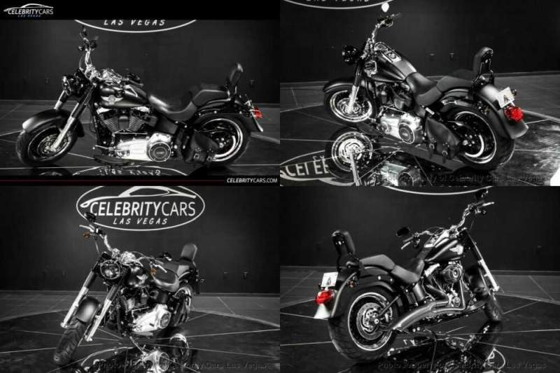 2013 Harley-Davidson Softail Softail Fat Boy Black for sale craigslist