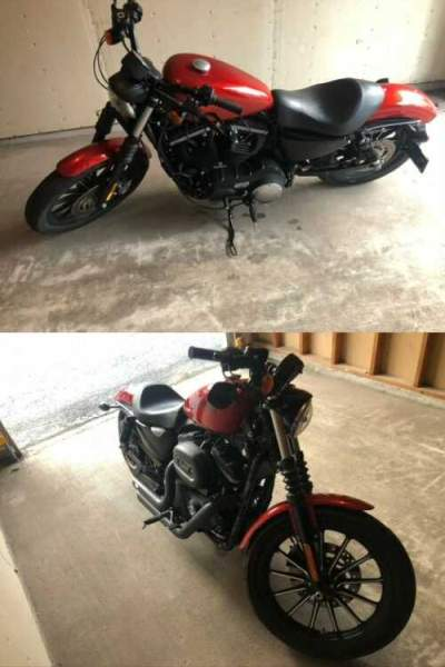 2013 Harley-Davidson Sportster Red for sale craigslist photo