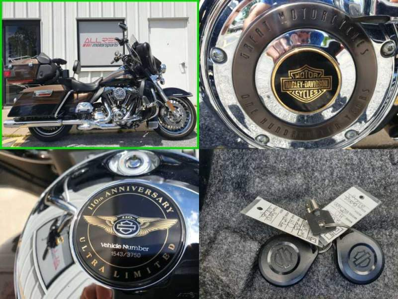 2013 Harley-Davidson Touring FLHTK Electra Glide Ultra Limited 110Th Ann. Ed. for sale craigslist