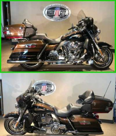2013 Harley-Davidson Touring Electra Glide® Ultra Limited 110th Anniversary Edi 110th Anniversary Bronze & Black for sale