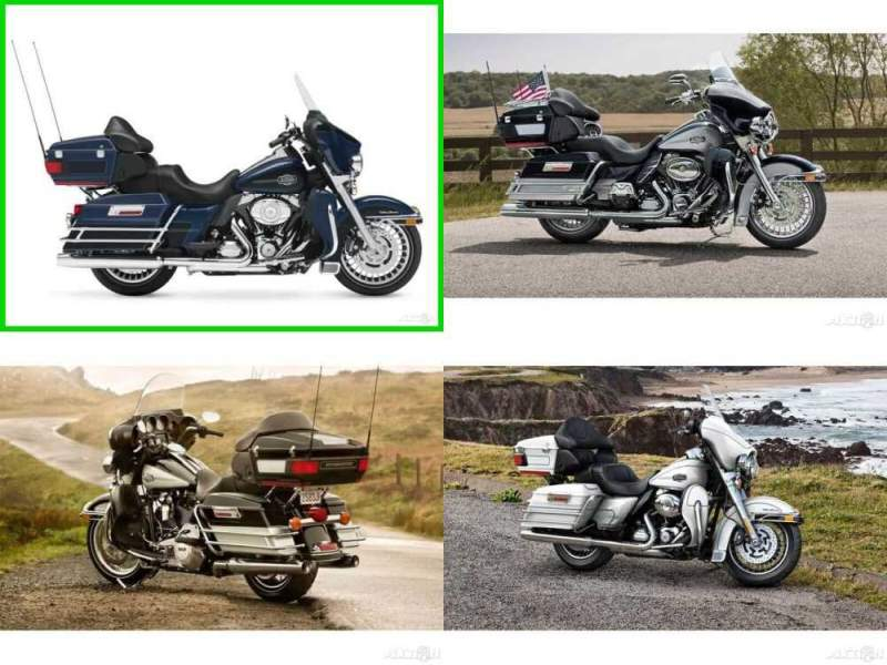 2013 Harley-Davidson Touring Ultra Classic Electra Glide Big Blue Pearl / Vivid Black for sale