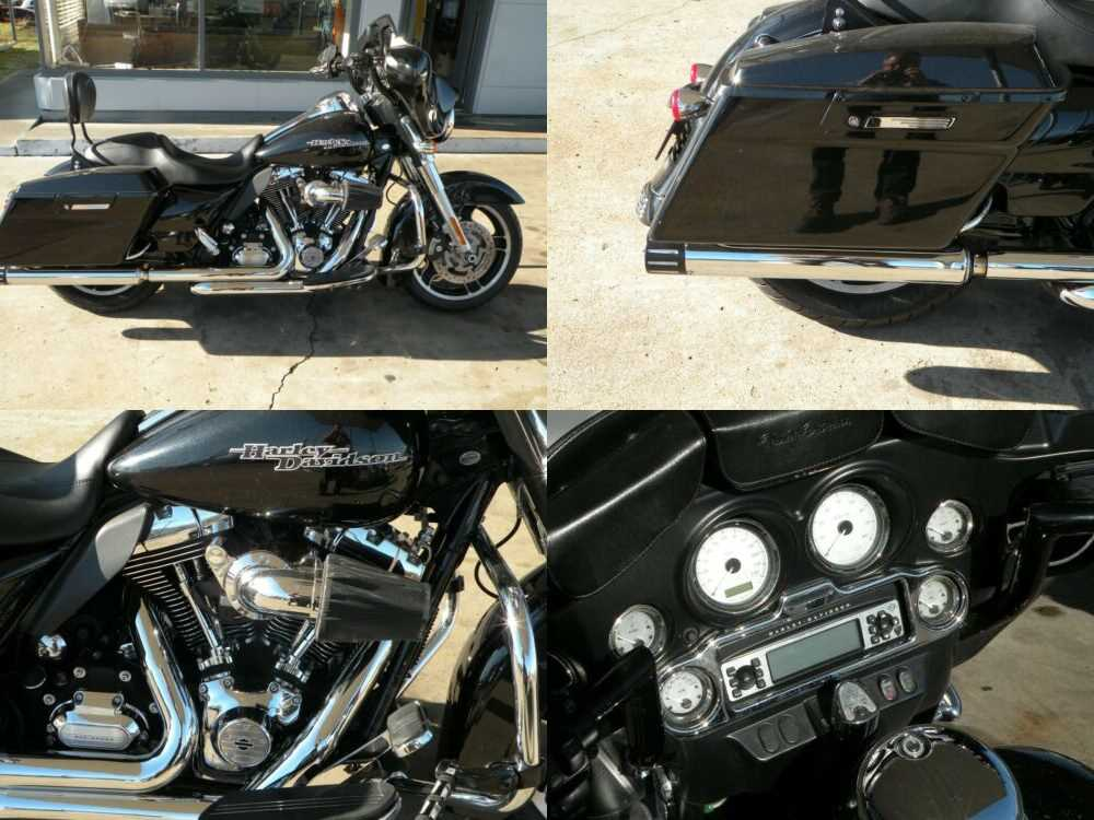 2013 Harley-Davidson Touring Blue for sale craigslist photo