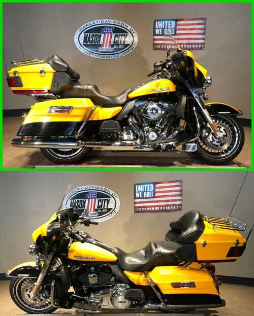 2013 Harley-Davidson Touring Electra Glide® Ultra Limited Chrome Yellow Pearl & Vivid Black for sale