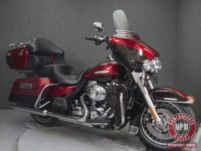 2013 Harley-Davidson Touring FLHTK ELECTRA GLIDE ULTRA LIMITED W/ABS EMBER RED SUNGLO/MERLOT for sale