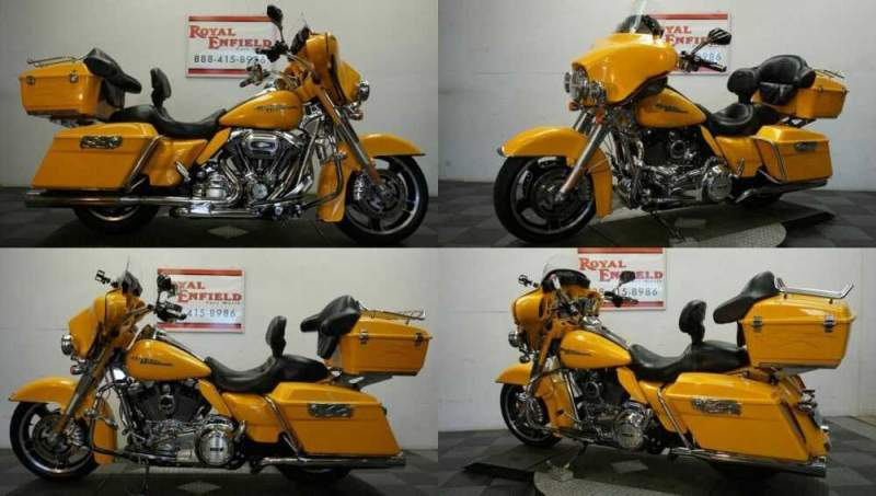 2013 Harley-Davidson Touring 1-OWNER LOADED!!! Yellow for sale
