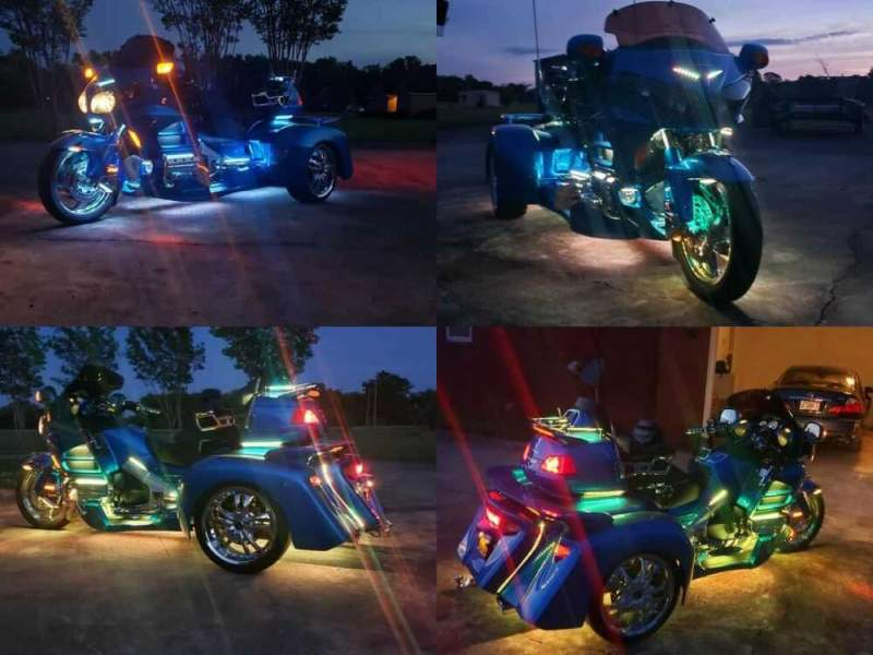 2013 Honda Gold Wing Blue for sale craigslist photo