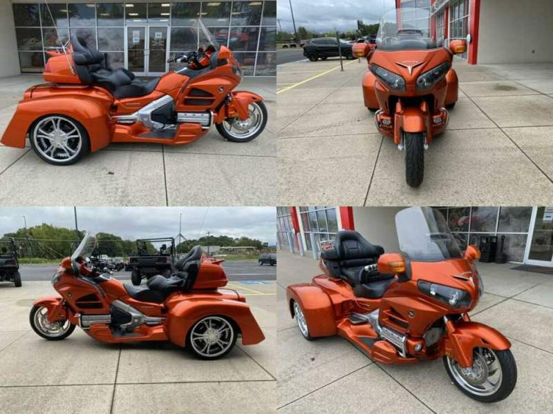 2013 Honda Gold Wing Orange for sale craigslist photo
