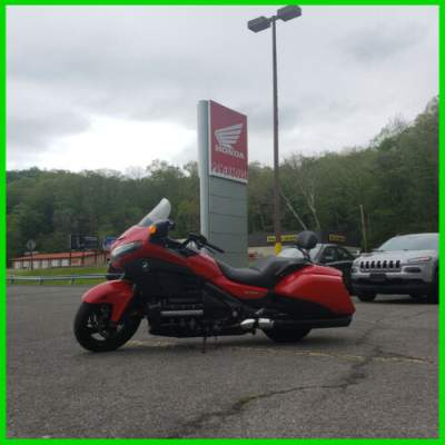 2013 Honda Gold Wing F6B Deluxe Red for sale craigslist