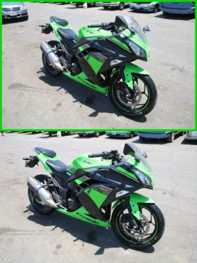 2013 Kawasaki Ninja 300 Green for sale