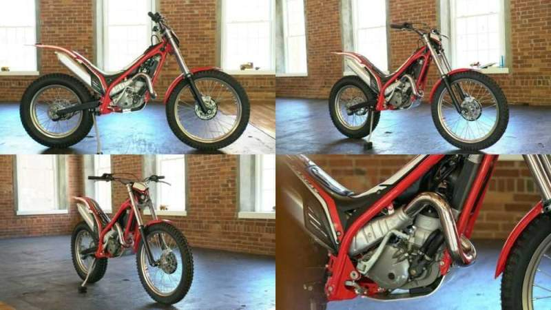 2013 Other Makes Gas Gas 250 Trials Red & Black for sale craigslist