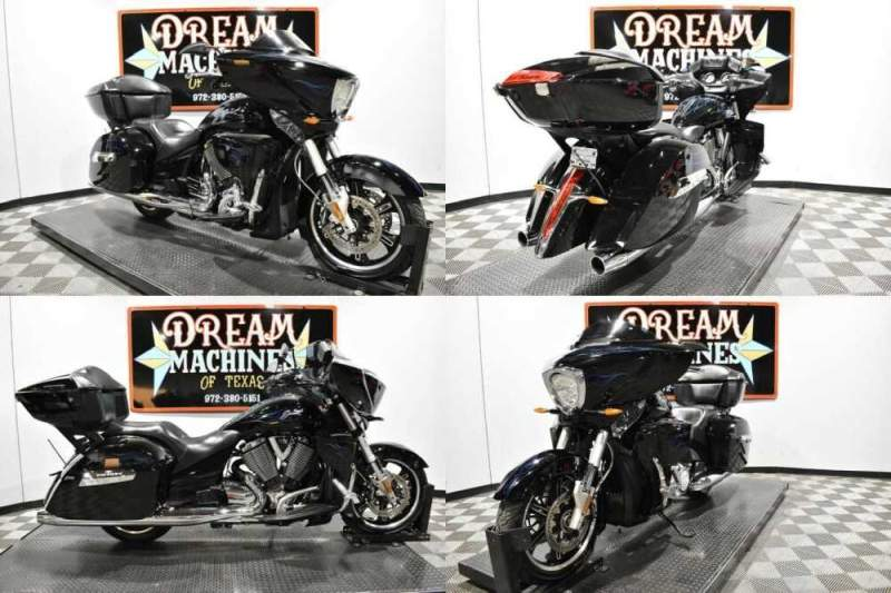 2013 Victory Cross Country Tour Black for sale craigslist photo