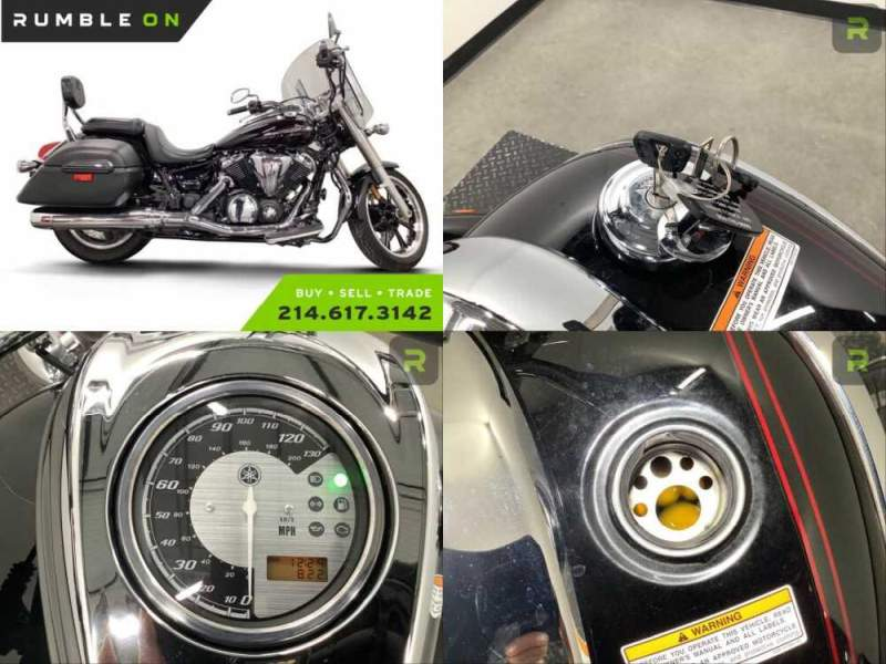 2013 Yamaha V Star CALL (877) 8-RUMBLE Black for sale craigslist photo