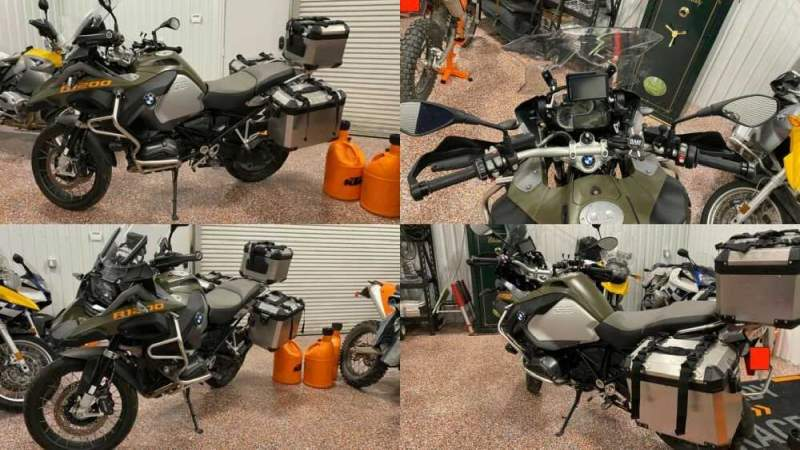 2014 BMW R-Series Green for sale craigslist photo