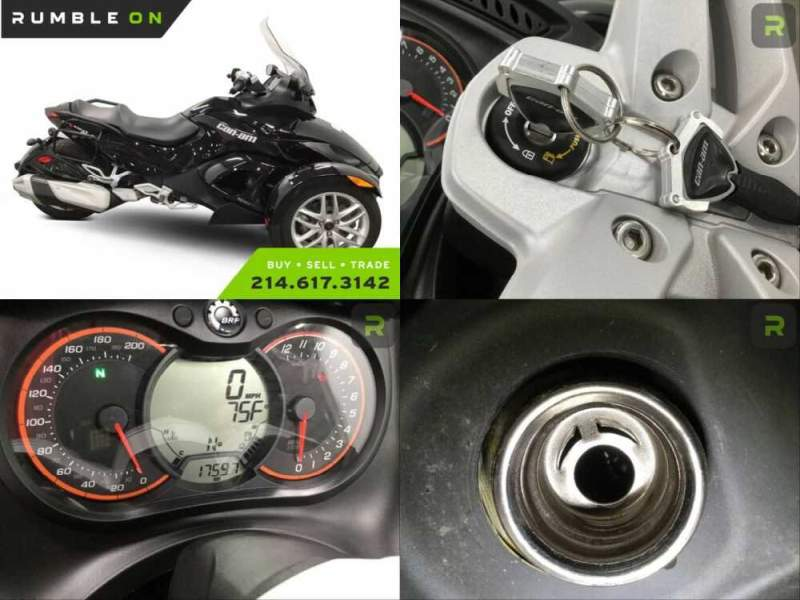 2014 Can-Am SPYDER RS-S SM5 CALL (877) 8-RUMBLE Black for sale craigslist photo