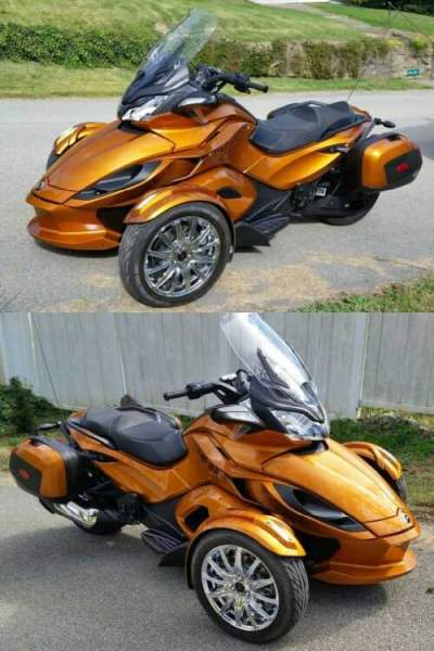 2014 Can-Am ST Limited Orange for sale craigslist photo