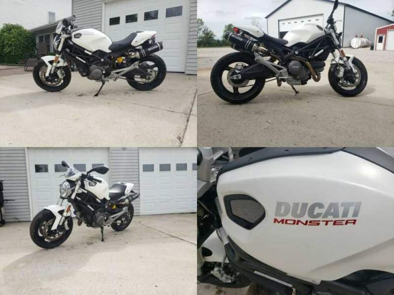 2014 Ducati Monster White for sale craigslist photo