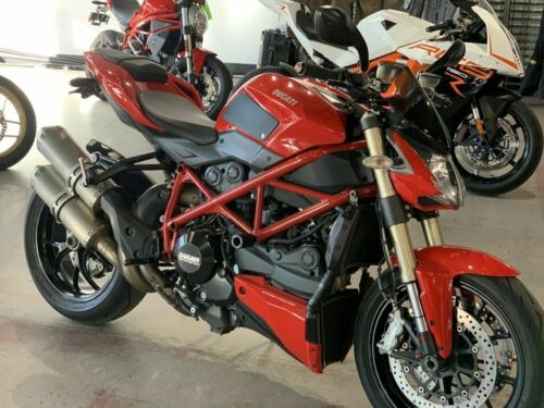 2014 Ducati StreetFighter 848 Red for sale craigslist photo