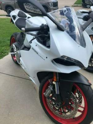 2014 Ducati Superbike Arctic White for sale