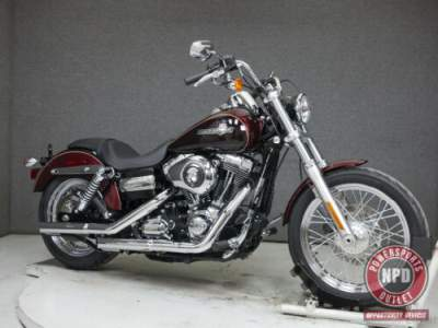2014 Harley-Davidson Dyna FXDC SUPER GLIDE CUSTOM MYSTERIOUS RED SUNGLO/BLACKENED CAYENNE for sale